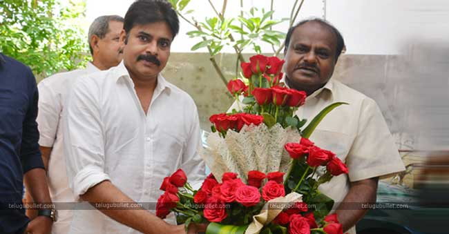Pawan Kalyan's Meet With JDS Chief For A Special Purpose?