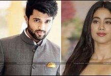 Sridevi's Daughter Janhvi Kapoor Take on Vijay Deverakonda
