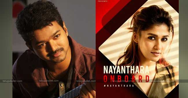 Its Official: Nayan To Pair Vijay In Thalapathy's 63