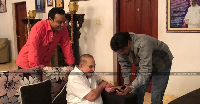 Balayya Personal Invitation To Krishna's Family Going Viral