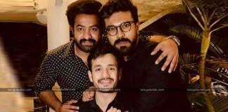 Charan-Tarak Joins Akhil For A Private Party