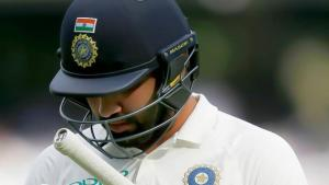 Rohit sharma scored a duck first time as an opener