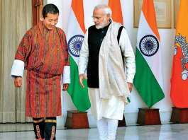 "Narendra Modi Meets Bhutan PM,Discuss ""Strong"" Relationship"