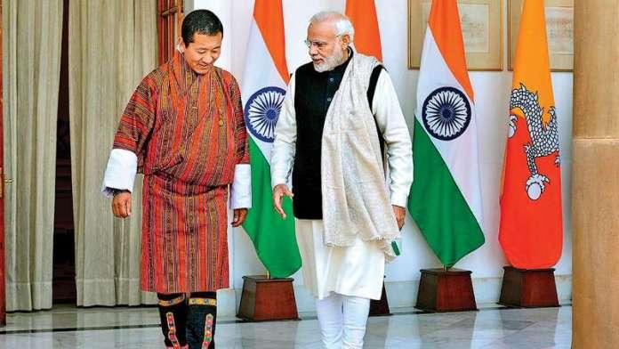 Narendra Modi Meets Bhutan PM,Discuss