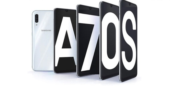 Samsung Galaxy A70s pops up in a Google listing