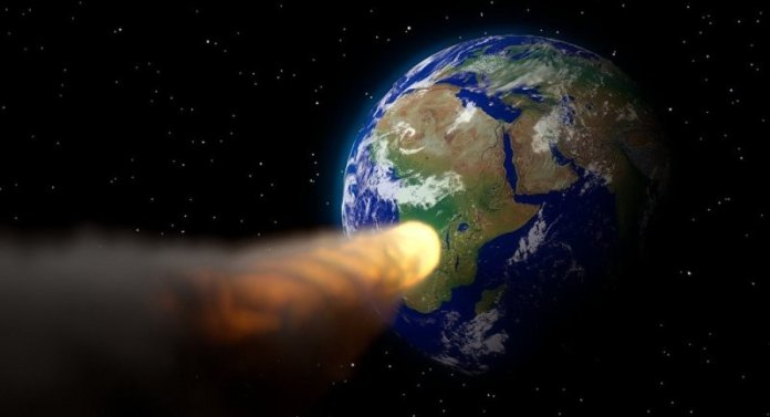 Four potentially hazardous asteroids flew past the Earth barely hours after being spotted