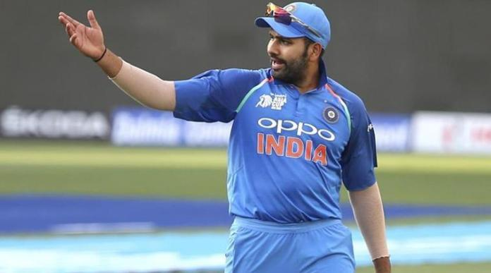 Rohit Sharma Loses Cool After Error On Giant Screen