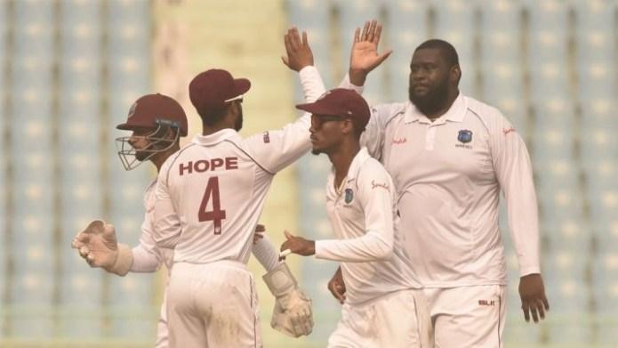 AFG crumble as Cornwall, Brooks help West Indies surge ahead