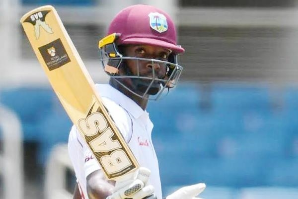 AFG Vs WI:  Shamarh Brooks' maiden ton inflates lead to 90