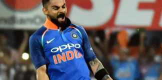 Kohli storms into top 10 T20I Rankings after heroics vs WI