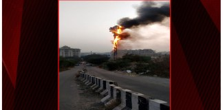 Hyderabad: Fire breaks out in cell tower, none injured