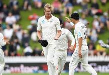 NZ Vs IND: Jamieson stars on Day 1 before rain ruins play