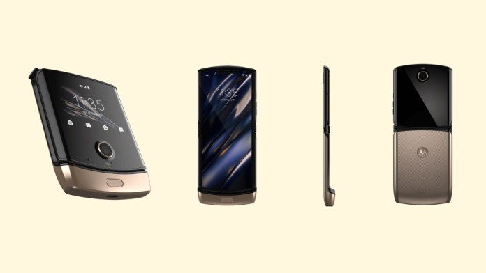 Motorola Razr 2019 Appears in Gold Colour Option as It Goes on Sale in the US