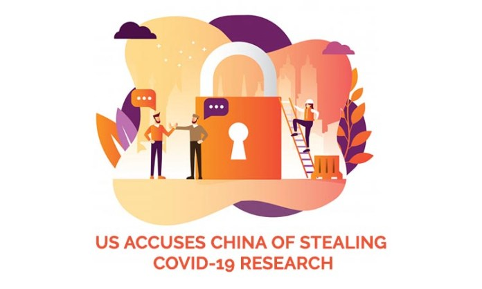 US accuses China of stealing Covid-19 research