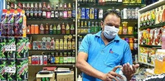 People selling liquor at a higher price
