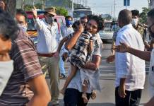At least 8 civilians died Due to Poisonous gas
