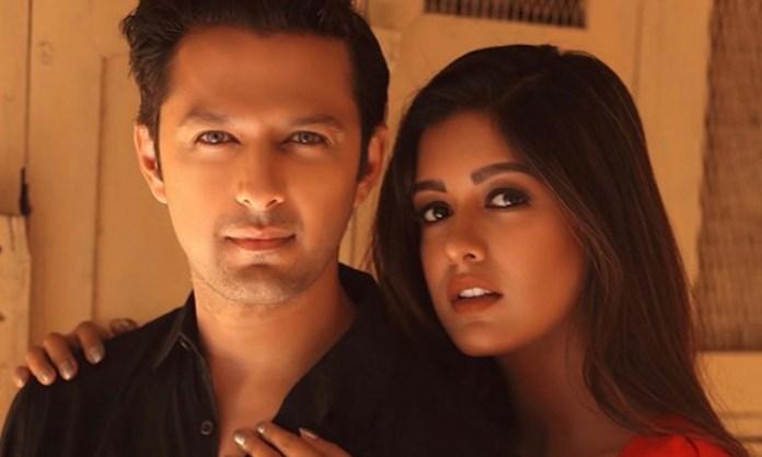 Vatsal Sheth, Ishita Dutta working on a music video