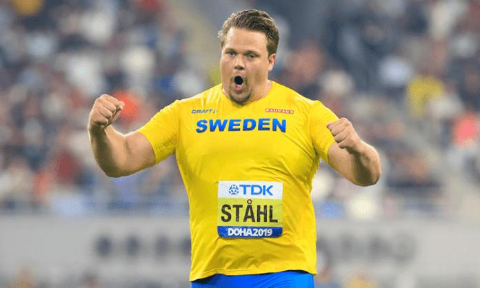 World champion Stahl throws world lead 71.37m in Sollentuna