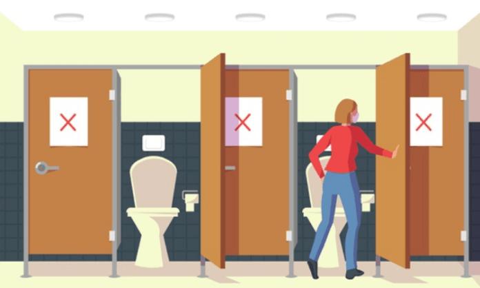 Flushing public toilets can spread Covid-19: Study
