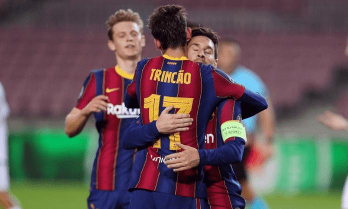 Barcelona centre-back Araujo sustains hamstring injury