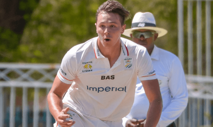 Pacer Migael Pretorius receives maiden SA call-up for Lanka Tests