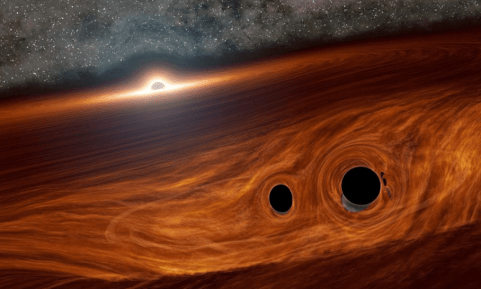 Astronomers discover concentration of small black holes