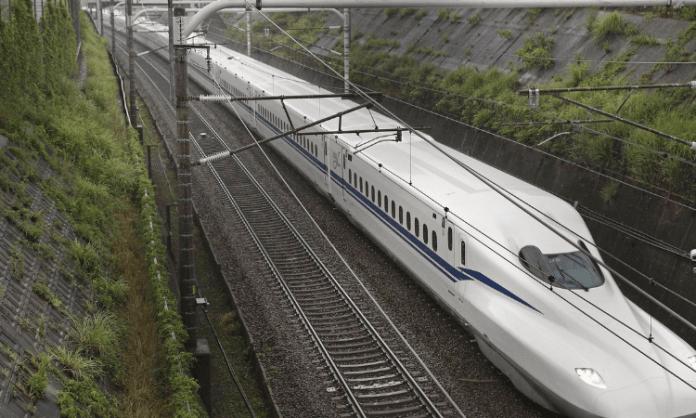 Japan's bullet train operator begins trial run of 'office car'