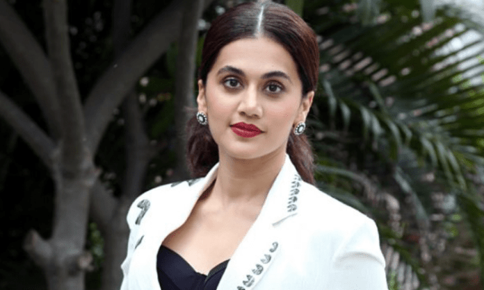 Taapsee Pannu goes 'down the line' for 'Shabaash Mithu'