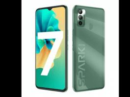 TECNO launches SPARK 7