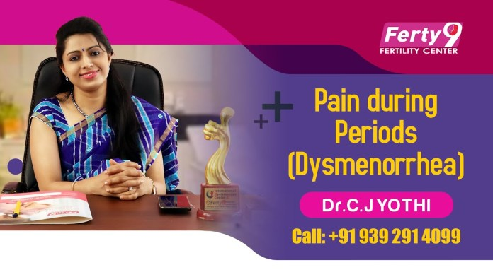 Pain during Periods (Dysmenorrhea) : Dr. C. Jyothi