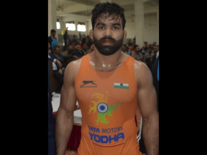 India's Gurpreet eyes Greco Roman Olympic berth