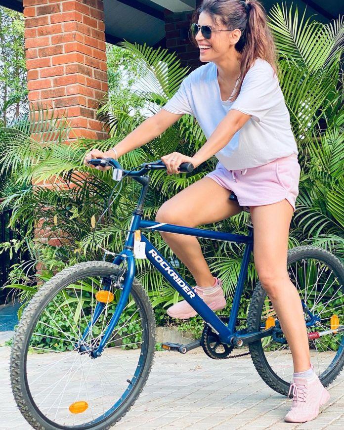 On World Bicycle Day, Sapna Thakur peddles down memory lane