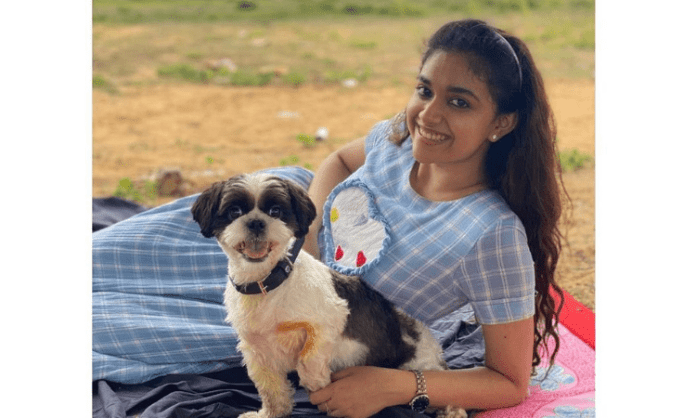 Keerthy Suresh's New Post  With Her Friend on International Picnic day.