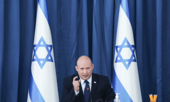 Israel will not accept rocket fire from Lebanon: PM