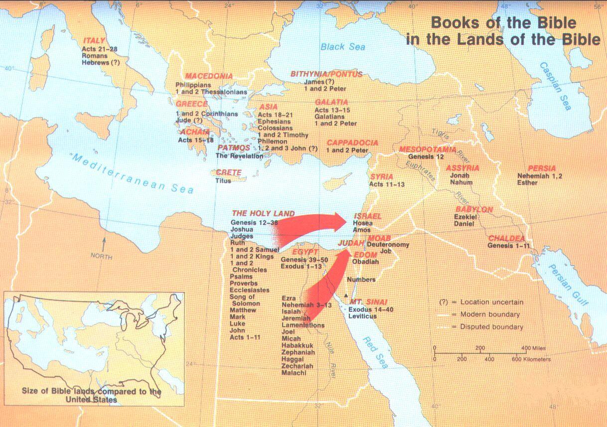 Bible Maps And Proofs Telugu Christian Gateway