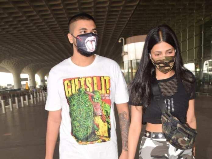 Shruti Haasan with boyfriend