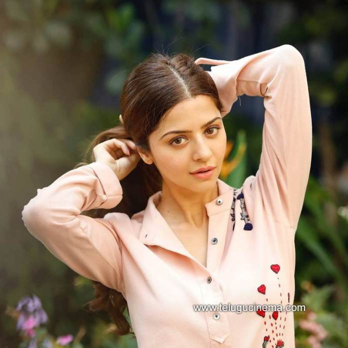 Vedhika amidst green cover