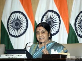 External Affairs Minister Sushma Swaraj. (File Photo)