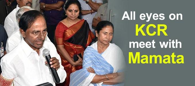 KCR, Mamata Benerjee