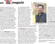 Zum T&Emagazin