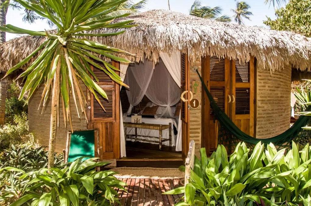Vila Kalango hotel sustentável em Jericoacoara