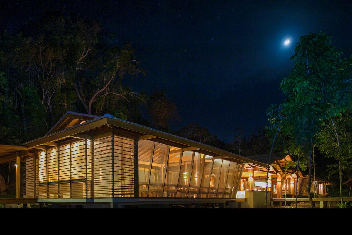 Cristalino Lodge conta com número limitado de acomodações para minimizar o impacto ao meio ambiente. Um exemplo de hotel sustentável na Amazônia