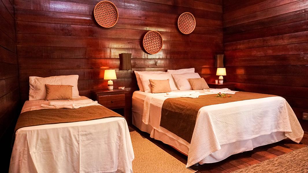 No Manati Lodge fortalece o Turismo de Base Comunitária incentivando os hóspedes à consumirem o artesanato e produtos locais