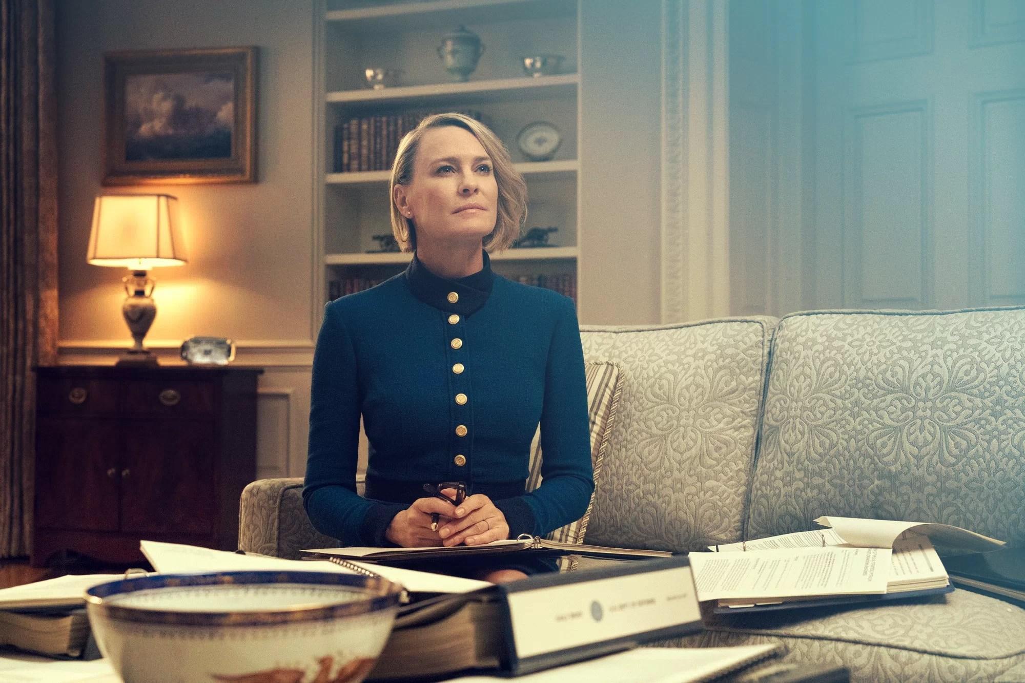 Claire Underwood House of Cards sexta temporada
