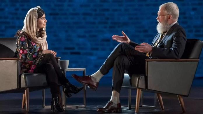 David Letterman Malala netflix