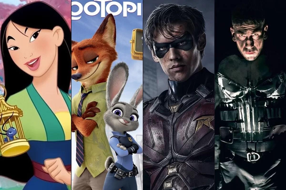 Mulan, Zootopia e quase 50 títulos chegam na Netflix em janeiro; veja a lista completa