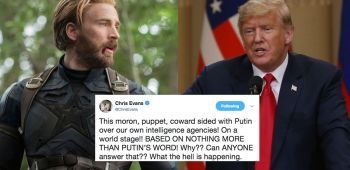 Chris Evans trump twitter