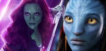 Zoe Saldana avatar vingadores