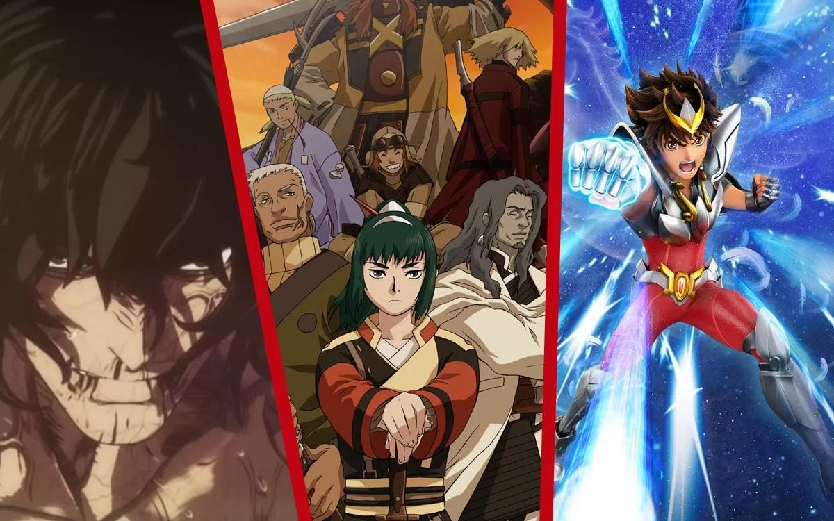 Animes que chegam em julho no catálogo da Netflix