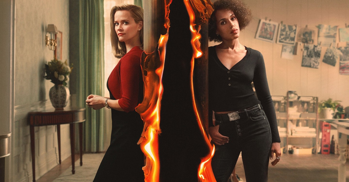 Little Fires Everywhere, com Reese Witherspoon e Kerry Washington ...